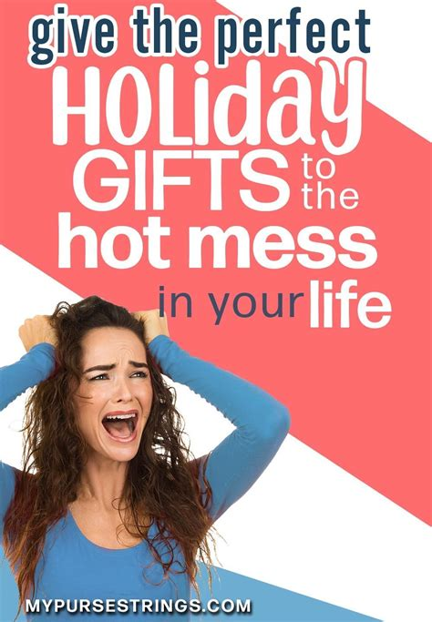 "Gift Guide for the ""Hot Mess"" Mom (With images) Hot mess"