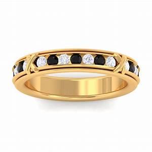 black onyx ij si diamond full eternity womens wedding ring With onyx wedding ring women