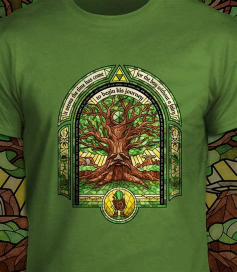 deku tree  legend  zelda  shirt mens