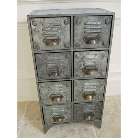 vintage metal storage cabinet vintage retro style industrial metal cabinet 8 drawer