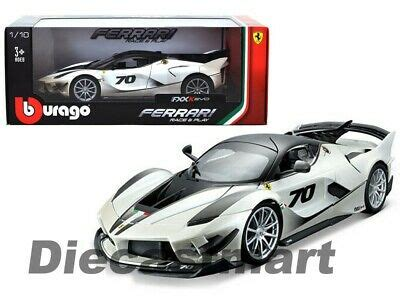 The geometry of the perimeters of the front bumper turned into altered by means of hollowing out the surfaces underneath the headlamps, as well as with the aid of. Bburago 1:18 Ferrari FXX-K EVO #70 White Diecast Model Race & Play 18-16012WH 4893993160129 | eBay