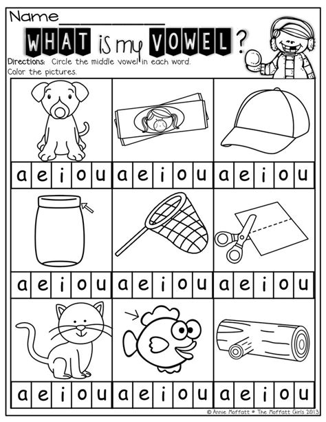 middle vowels a great way for to isolate sounds and