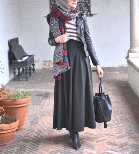 elegantes hijab rock outfit hijab chic aus dem aus