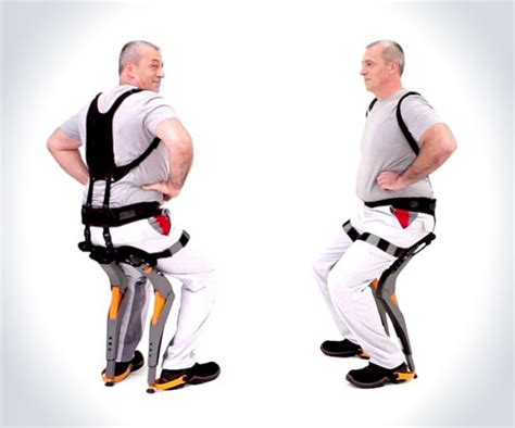 portable chair wearable chairless chair dudeiwantthat com