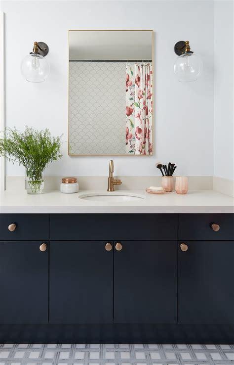 black bathroom cabinet ideas  youll   copy