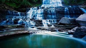 Wallpaper, Pongour, Waterfall, 4k, Hd, Wallpaper, Falls