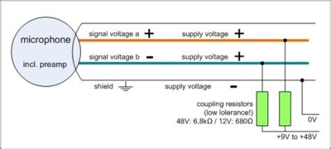 Phantom Power Xlr Wiring Diagram by Microphone Basics