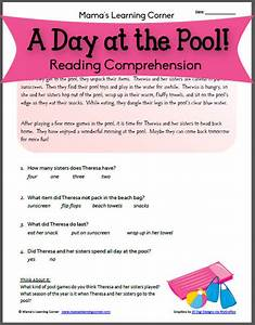 Reading prehension Pool Day!  Mamas Learning Corner