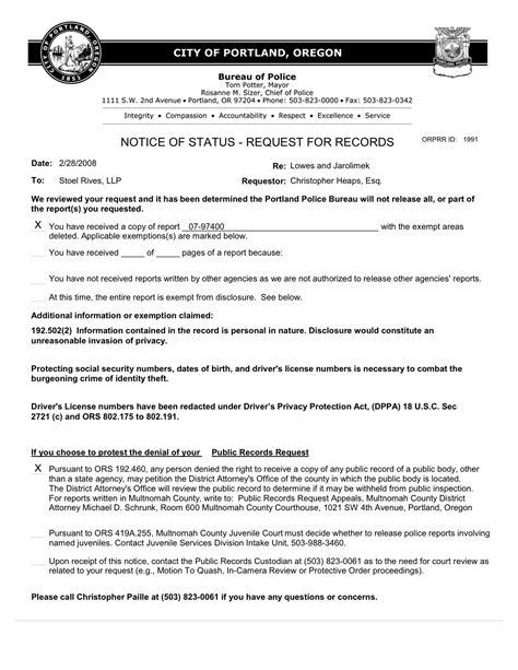 bureau citation updated bureau denies information request for