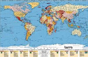 Carte Du Monde Noir : carte du monde ou carte monde ~ Teatrodelosmanantiales.com Idées de Décoration