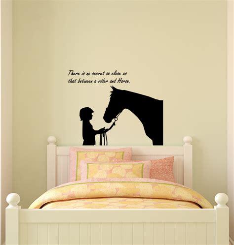 Horse Decalhorse Stickerquote Decalhorse By Aluckyhorseshoe