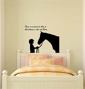 Horse decal sticker quote wall decor