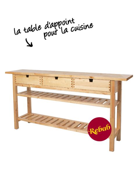 table appoint cuisine table d 39 appoint ikea norden