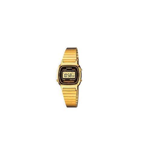 orologio casio piccolo casio orologio digitale dorato piccolo donna la670wga 1df