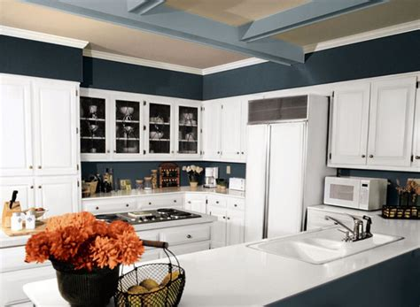 blue color schemes for kitchens ideas and pictures of kitchen paint colors 7936