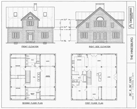 house plans timber frame drawing packages timberworks