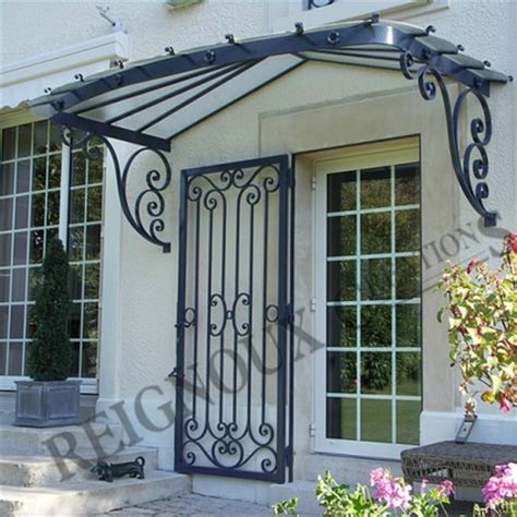 marquise porte entree maison marquises reignoux cr 233 ations