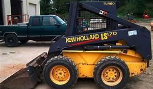 New Holland Ls160   Ls170 Skid Steer Loader Workshop