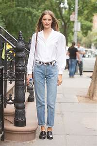 Baggy Mom Jeans Outfits- Skinny Jeans Over