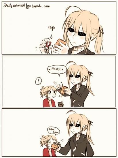 Fate Zero Saber Memes