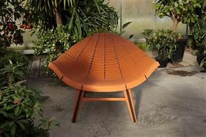 Fauteuil Bois Exterieur : fauteuil bas manta stratifi int rieur ext rieur bois naturel ibride ~ Melissatoandfro.com Idées de Décoration
