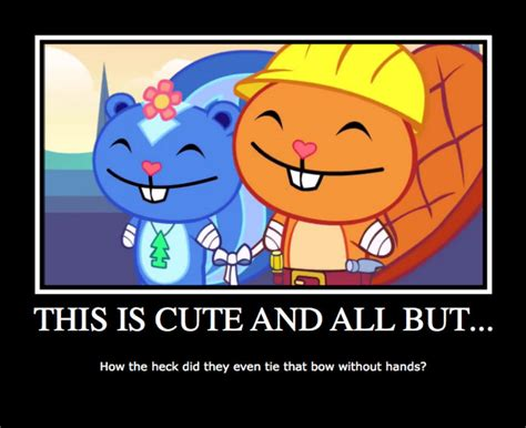Happy Tree Friends Demotivational Poster By Neo-chan7 On