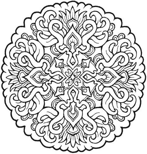 More Mystical Mandalas Coloring Pages Dover Publications