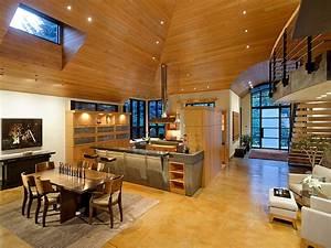open kitchen dining area interior design mag With interior design for open kitchen with dining