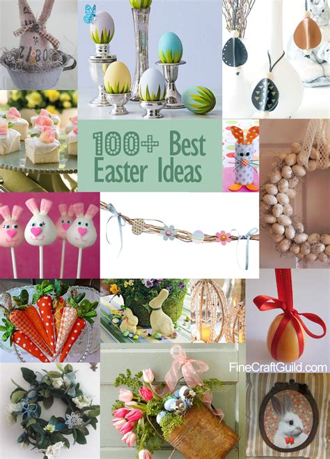 easter ideas decorations eggs recipes
