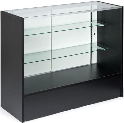 Cash Register Display Case Glass Open Front
