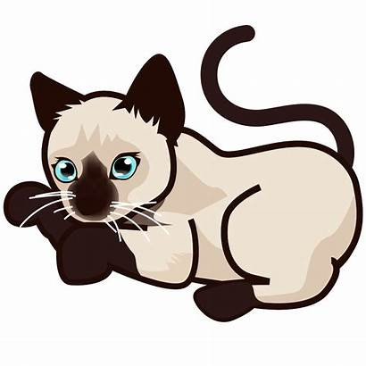 Cat Kitten Siamese Svg Clipart Emoji Bengal