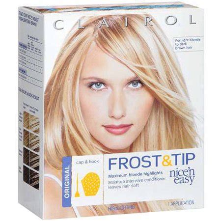 clairol nice  easy frost tip hair highlights creme kit