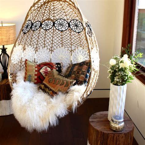 knotted melati hanging chair australia knotted melati hanging chair motif eclectic