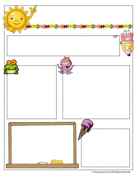 june newsletter template woo jr activities 222 | june teacher newsletter