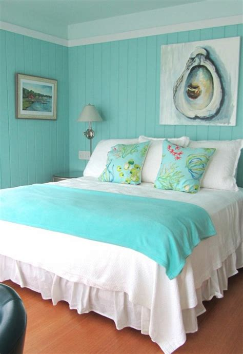 wall color turquoise   modern home