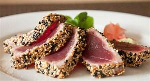 Tuna Tataki With Sesame Seeds Hanna39s Pinch Of Salt