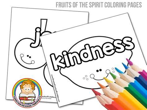 fruits   spirit bible coloring pages christian preschool fruit   spirit preschool