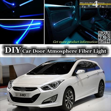 hyundai i40 tuning for hyundai i40 interior ambient light tuning atmosphere fiber optic band lights inside door
