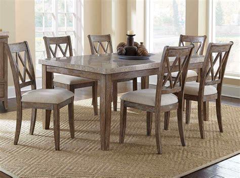 dining room table sets homelegance chicago 7 pedestal dining room set in