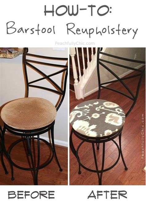 cherner chairs find your chair diy bar stool reupholstery easy barstool makeover