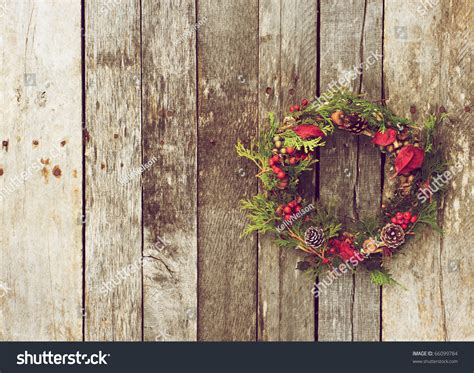 christmas wreath  natural decorations hanging