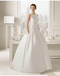 Brautkleid Vintage Schlicht : a linie ausgefallene schlichte brautkleider aus taft mit ~ Watch28wear.com Haus und Dekorationen