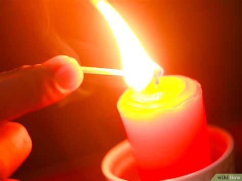 accendi una candela come accendere una candela 13 passaggi illustrato