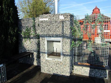 Gabionen 2011 Steine Im Gitter Als Gartendekoration