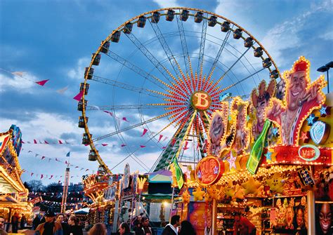 Frankfurt's Dippemess Fair Kicks Off The Spring Season
