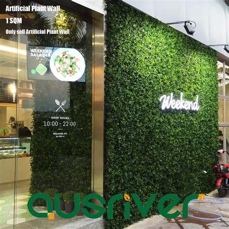 1SQM Artificial Plant Wall Hedge Mixed Plants Vertical