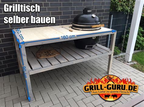 grilltisch selber bauen selbstgebauter grilltisch f 252 r den monolith classic grill guru de