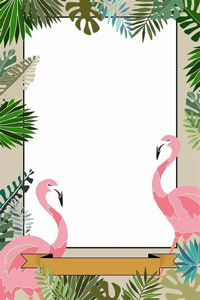 Booth Flamingo Templates Custom