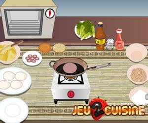 jeu de cuisine hamburger jeux de cuisine gratuit