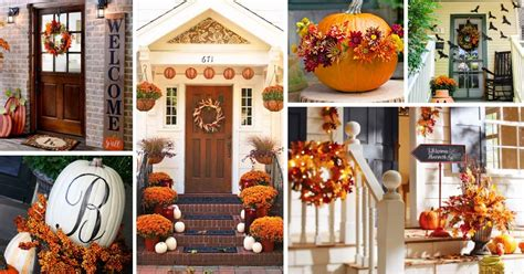 lovely fall front porch decorating ideas decor home ideas